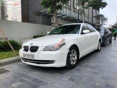 Cần bán BMW 5 series 523i 2009, màu trắng, nhập khẩu nguyên chiếc