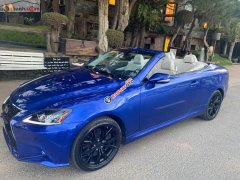 Bán Lexus IS 350C đời 2009, màu xanh lam, xe nhập, chính chủ