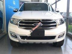 Cần bán xe Ford Everest Titanium 2.0L 4x2 AT 2019, màu trắng, nhập khẩu