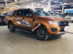 Xe Ford Ranger Wildtrak 2.0L 4x4 AT sản xuất 2018, nhập khẩu như mới, giá chỉ 815 triệu