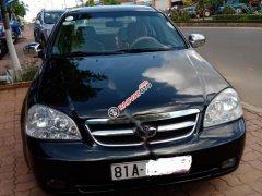 Bán xe Daewoo Lacetti EX 1.6 MT đời 2007, màu đen xe gia đình, 159 triệu