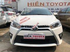 Cần bán xe Toyota Yaris sản xuất 2017, màu trắng, nhập khẩu nguyên chiếc chính hãng