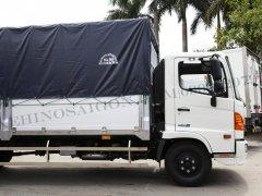 Xe tải Hino 2020 6.5 tấn thùng mui bạt 6.7m