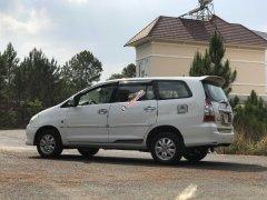 Gia đình cần bán nhanh Toyota Innova 2.0G đời 2010, màu trắng, giá thấp