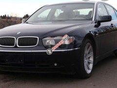 Cần bán gấp BMW 7 Series 745i năm sản xuất 2003, màu đen, nhập từ Đức số tự động
