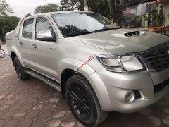 Bán giá ưu đãi với chiếc Toyota Hilux sản xuất năm 2013, màu bạc giá cạnh tranh