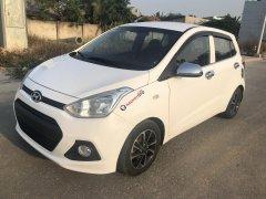 Phú Nguyễn Auto cần bán Hyundai Grand i10 đời 2015, màu trắng, số sàn