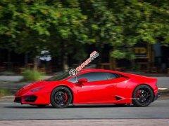 Bán lại chiếc xe siêu sang Lamborghini Huracan LP580 đời 2016, màu đỏ, xe nhập, giá ưu đãi