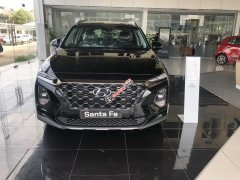 Bán Hyundai Santa Fe đời 2020, màu đen, máy dầu tiêu chuẩn