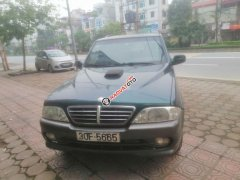 Cần bán xe Ssangyong Musso sản xuất 2007