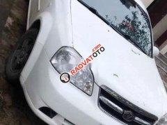 Bán Daewoo Lacetti năm sản xuất 2010, màu trắng, nhập khẩu nguyên chiếc