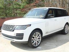 Bán xe LandRover Range Rover SV Autobiography 2020, màu trắng- da bò đỉnh cao thương gia