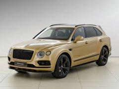 Bán xe Bentley Bentayga 3.0 Hybrid 2021 màu vàng giá cực hợp lý