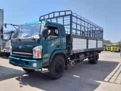 Cần xe tải 8 tấn thùng dài  6m7 đời  2017, ga cơ