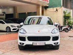 Porsche Cayenne 3.6 sx 2016 màu trắng biển đẹp, lái max phê