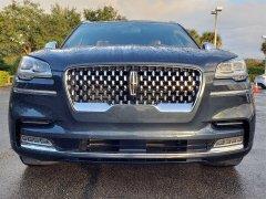 Bán xe Lincoln Aviator Black Laber 2020, màu xanh xe nhập Mỹ