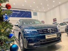 Bán Volkswagen Tiguan Topline đời 2019, màu xanh lam, nhập khẩu chính hãng