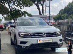 Tiguan Luxury S màu trắng bản cao cấp nhất - Bản Full Option cao cấp nhất- Khuyến mãi tốt tháng 9/2020