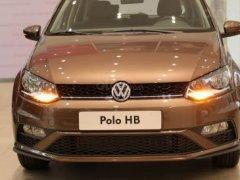 Volkswagen Polo Hatchback 2020 màu nâu ưu đãi đặc biệt giảm giá tiền mặt 50tr - giao ngay