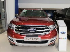 Bán Ford Everest Titanium 4x2 2020, màu đỏ, xe nhập