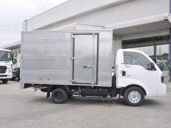 Bán ô tô Thaco FRONTIER K200 thùng kín 2020, màu trắng