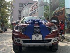 Bán Ford Everest Titanium 4x2 2021, màu đỏ, nhập khẩu