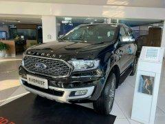 Cần bán Ford Everest Titanium 4x2 2021, màu đen, nhập khẩu chính hãng