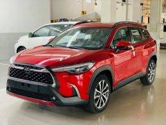 Toyota Cross 2021 đủ màu giao ngay giá tốt