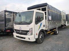 Xe tải Nissan thùng mui bạc cao cấp tải 1t9 thùng 4.3 mét, hỗ trợ trả góp 80% nhận xe ngay