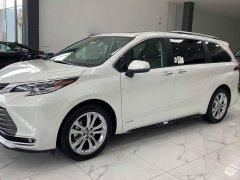 Bán Toyota Sienna Platinum 2.5 AWD, sản xuất 2021 nhập Mỹ mới 100%, xe giao ngay