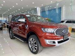 Bán ô tô Ford Everest titanium 4x2 đời 2021, màu đỏ, xe nhập