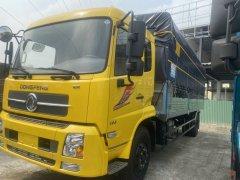 Xe tải Dongfeng 8T thùng kín dài 9m5, giá tốt, ngân hàng hỗ trợ 75%