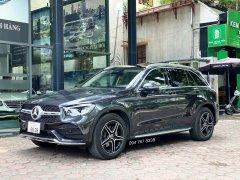 Cần bán gấp Mercedes GLC300 AMG đời 2021, màu xám