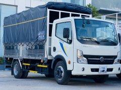 Giá xe tải 3.5 tấn động cơ Nissan thùng bạt 4m3 mới Bình Dương