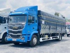 Giá xe tải JAC A5 thùng bạt inox mở khung vĩ 2 bên 8m2 mới 2021