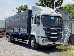 Giá xe tải JAC A5 thùng bạt dài 8m2 mới 2021