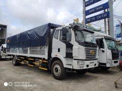 Bán xe tải FAW 7 tấn thùng bạt mở khung vĩ dài 9m7 mới 2021