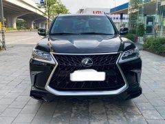 Bán Lexus Lx570 MBS 4 chỗ màu đen, nội thất nâu da bò, sản xuất 2019, lăn bánh cực ít mới 99,9%