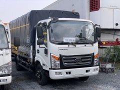 Đánh giá xe tải Veam 3T5 thùng bạt dài 4m8 mới nhất 2021 - Ngân hàng hỗ trợ vay đến 80% giá trị xe