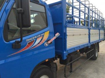 Cần bán Thaco Ollin 700B đời 2017, màu xanh, giá 427tr