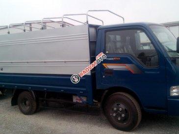 Bán Kia K165 thùng mui bạt, màu xanh lam, giá tốt