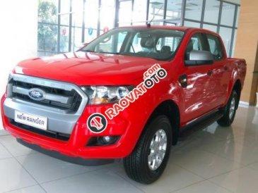 Cần bán xe Ford Ranger 2.2L XL MT 4x4 năm 2017, màu đỏ, xe nhập
