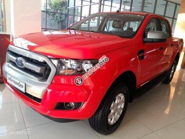 Cần bán xe Ford Ranger 2.2L XLT MT 4x4 đời 2017, màu đỏ, nhập khẩu