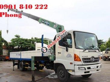 Bán xe tải Hino 6 tấn FC9JLSW, gắn cẩu Unic 3 tấn, giao xe ngay