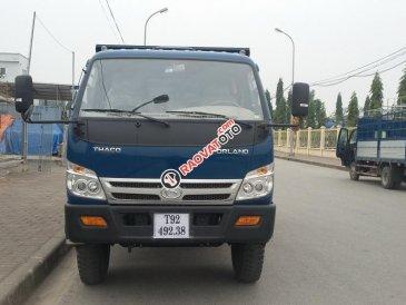 Bán xe Ben 5 tấn Thaco FLD490C Trường Hải, mới nâng tải 2017 tại Hà Nội