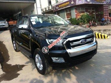 Cần bán Ford Ranger 2.2L XL MT 4x4 đời 2017, màu đen, xe nhập giá cạnh tranh