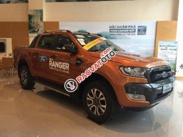 Cần bán Ford Ranger 3.2L AT 4x4 Wildtrak đời 2017, nhập khẩu